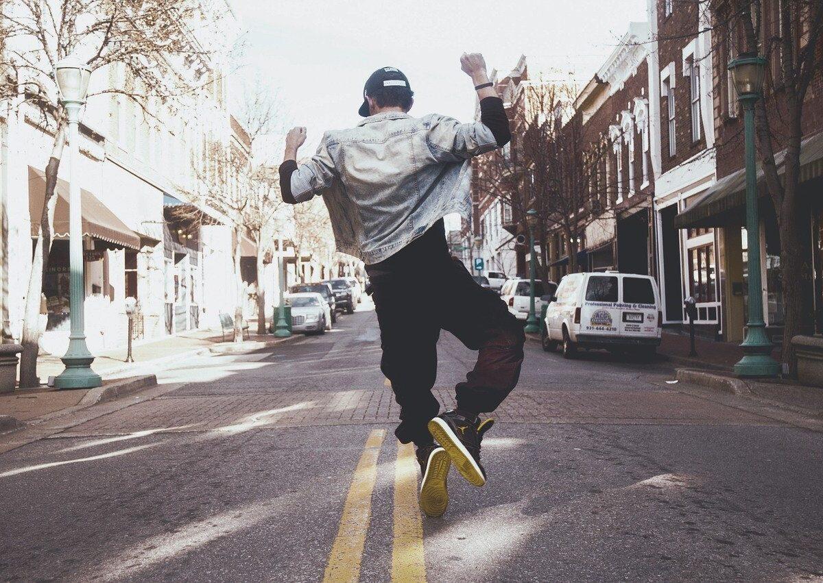 hip hop, dancer, jump