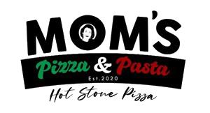 Moms Pizza & Pasta San Diego, CA Logo - Black X Marketing Client