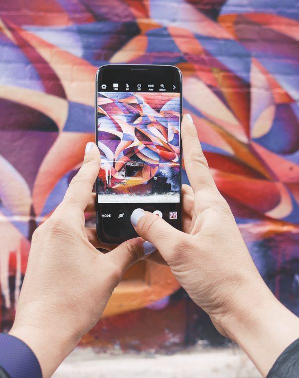 art, electronics, graffiti